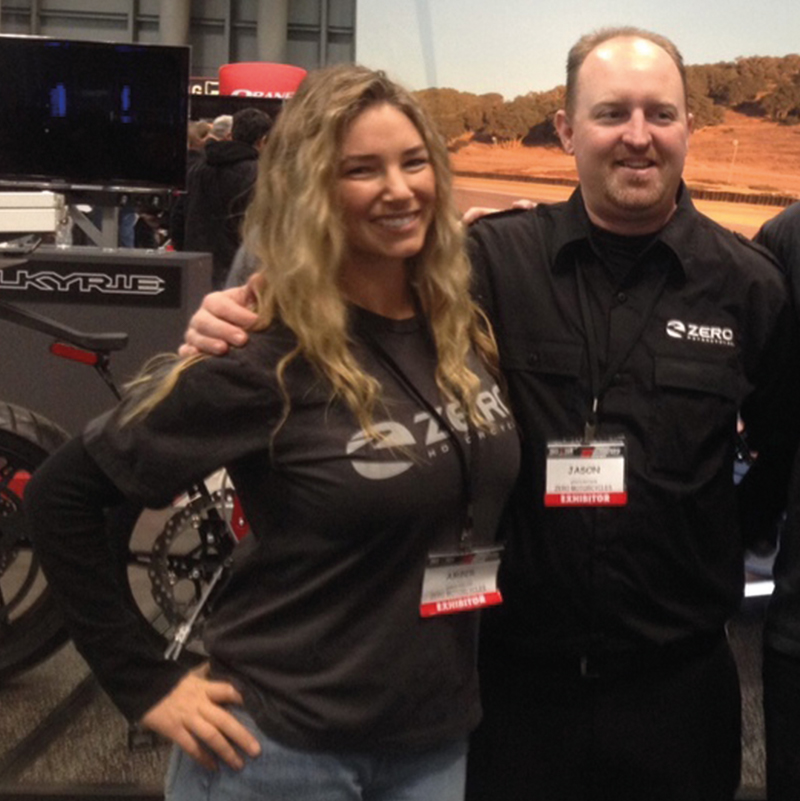 MFF at the Progressive International Motorcycle Show